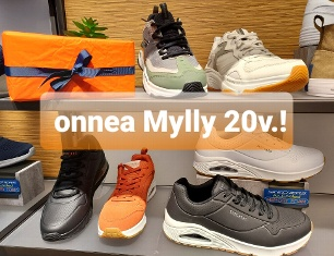 Onnea Mylly 20 vuotta!